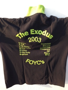 The Exodus – back