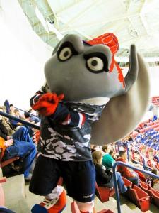 Stingray mascot