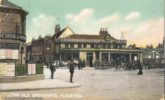 The Greengate public house, formerly The Gate, is recorded from 1776. It was rebuilt in 1953-4 and moved to Sha Lan Villas in 1994