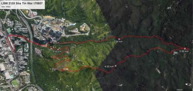 LSW 2135 Sha Tin Wai 170927 7.05km